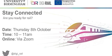 Stay Connected: Are you ready for rail? tickets