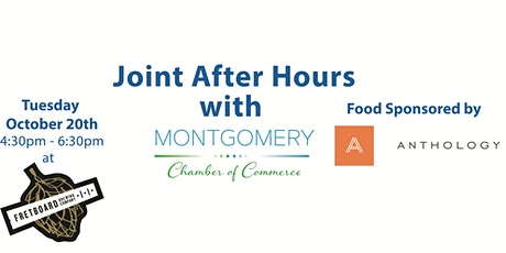 2020 October Joint After Hours Mixer with Montgomery Chamber of Commerce tickets