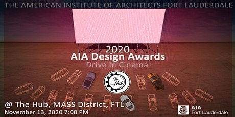 2020 AIA Fort Lauderdale Design Awards Sponsorships tickets