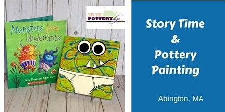 Story Time and Pottery Painting tickets