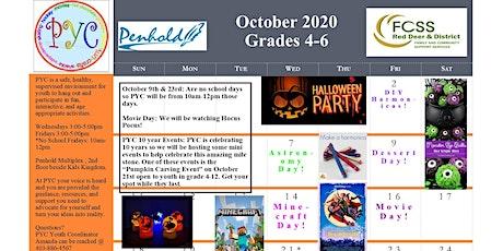 PYC Grades 4-6: October 2020 tickets