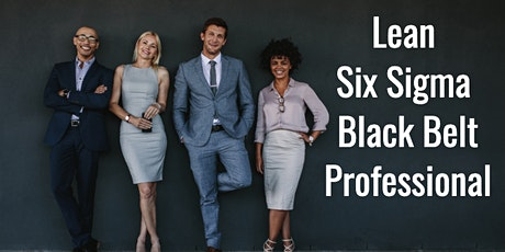 Lean Six Sigma Black Belt Certification Training in Boston tickets
