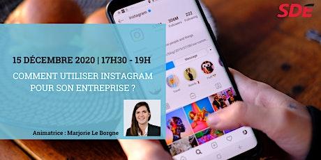 Comment utiliser Instagram pour son entreprise ? billets
