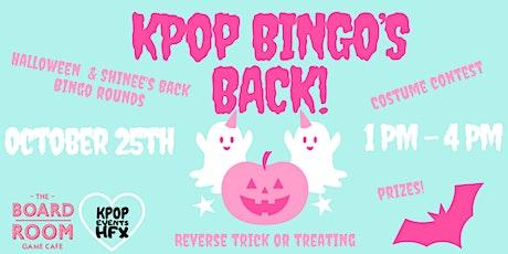 KPOP HFX presents: KPOP Bingo Halloween! tickets
