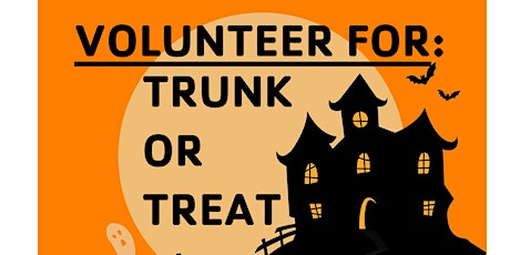 """Trunks Needed  for """"Trunk or Treat"""" Event tickets"""