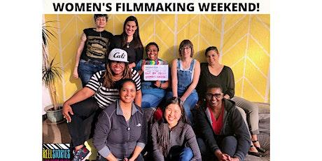Virtual Women's Weekend Filmmaking Program Oct 2020 tickets