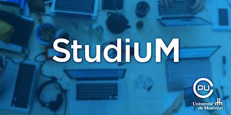 Communiquer les résultats des évaluations |Carnet de notes de StudiUM (1/2) billets