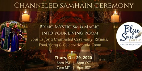 Channeled Samhain Ceremony via Zoom tickets