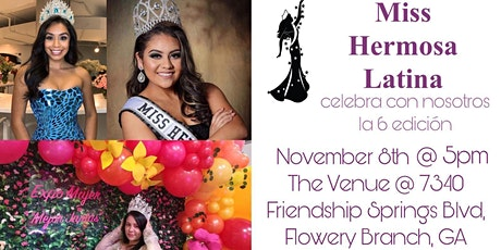 Miss Hermosa latina 2020 tickets