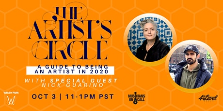The Artist's Circle with Special Guest Nicholas Guarino tickets