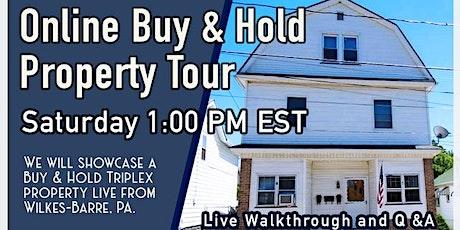 Online Triplex Rental Property Tour Deal tickets