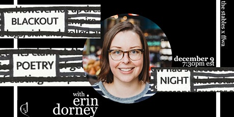 Blackout Poetry Night with Erin Dorney tickets