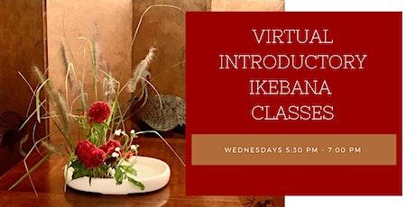 Virtual Ohara Ikebana Introductory Class tickets