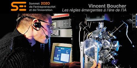 Vincent Boucher |Les règles émergentes à l'ère de l'IA billets
