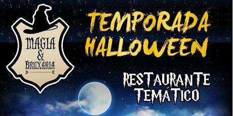 Temporada Halloween - Magia e Bruxaria ingressos