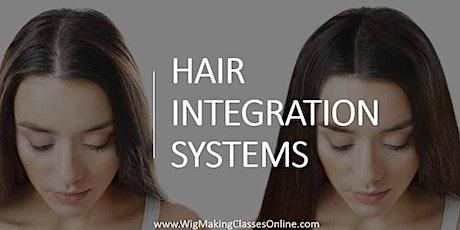 Hair Integration Wig Class - Online Course tickets