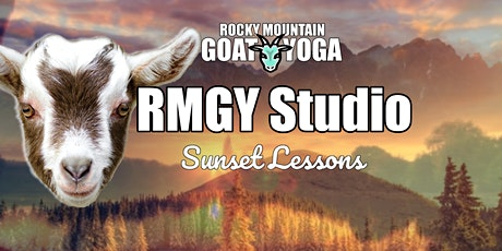 Sunset Goat Yoga - October 15th (RMGY Studio) tickets