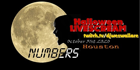 Numbers Full Moon Halloween Livescream! tickets