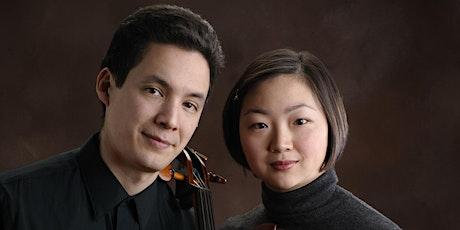 Juliette Kang, violin and Thomas Kraines, cello