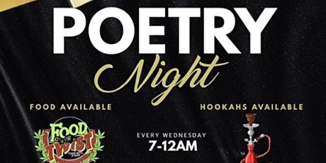 Poetry Night @ The Hive tickets