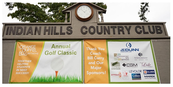 8th Annual Orange Duffel Bag Charity Golf Classic with Coach Bill Curry! image