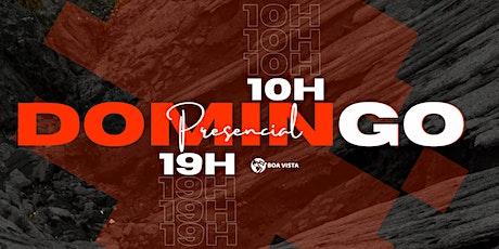 Domingo 27/09 Presencial- 10h E 19h ingressos