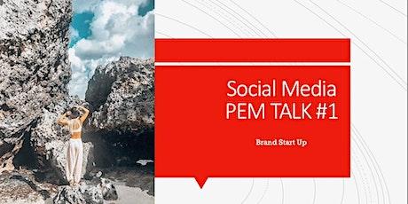 P.E.M. Talk #1 Brand Start Up tickets