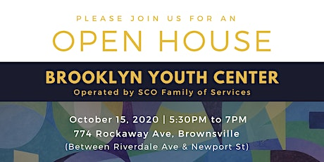 Brooklyn Youth Center Open House tickets