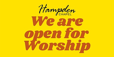 Hampden Chapel - Sunday Morning Worship tickets