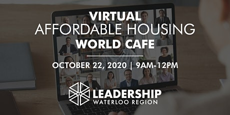 Affordable Housing World Cafe tickets