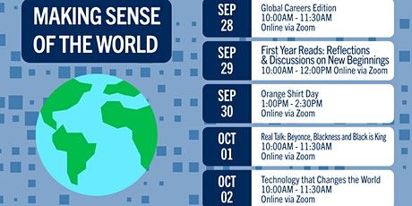 Making Sense of the World - Technology that Changes the World tickets