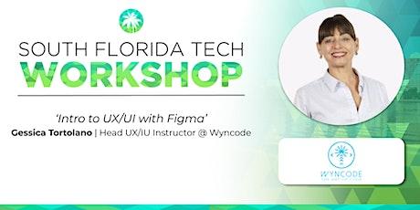 "WORKSHOP   'Intro to UX/UI"" (Wyncode) tickets"