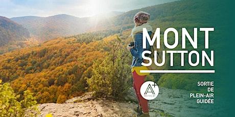 Randonnée en plein-air avec InspireA+ / Mont Sutton billets