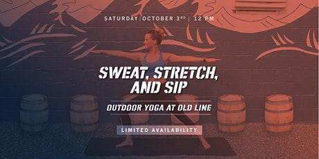 Sweat, Stretch, and Sip tickets