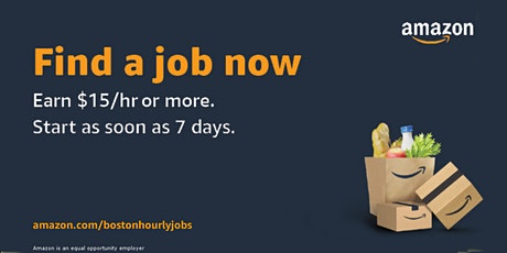 Amazon Workforce Staffing Virtual Info Session - MA Warehouse Jobs tickets