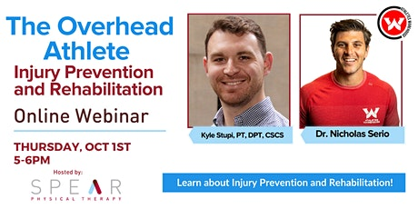 The Overhead Athlete - Injury Prevention and Rehabilitation tickets