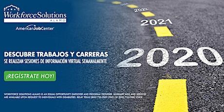 Descubre trabajos y carreras: Workforce Solutions Álamo Sesión de Info entradas