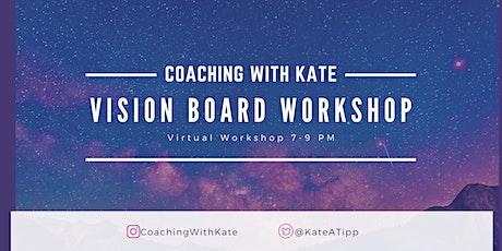 Virtual Vision Board Workshop tickets