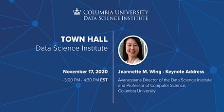 Town Hall 2020: The Data Science Institute, Columbia University biglietti