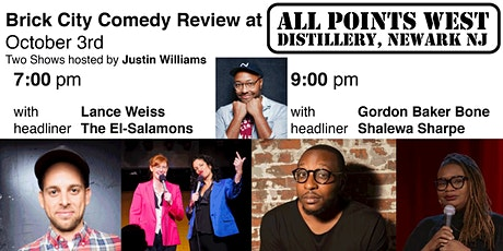 Brick City Comedy Review at All Points West Distillery, w/ Justin Williams tickets