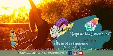 Yoga de las Emociones  - Astroyoga boletos