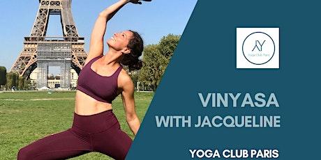 Autumn Indoor - Vinyasa Yoga with Jacqueline - St Roch 75001 tickets