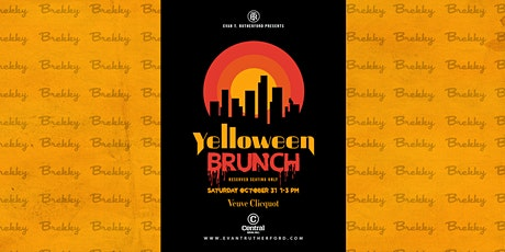 Yelloween Halloween Brunch! Brekky! tickets