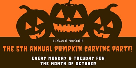 5th Annual Pumpkin Carving at Lincoln Tavern tickets