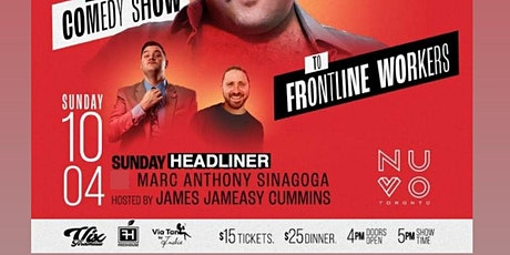 Standup Comedy @ Nuvo Toronto tickets
