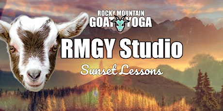 Sunset Goat Yoga - October 20th (RMGY Studio) tickets