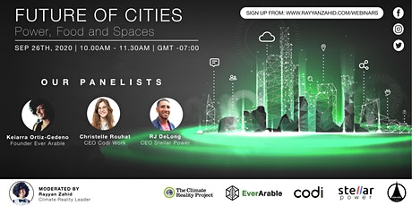 Future of Cities: Power, Food and Spaces [Panel Discussion] tickets