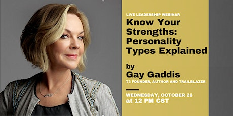 Know Your Strengths: Personality Types Explained tickets