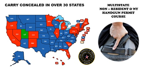 PFG MULTI-STATE Non Resident Handgun Permit Course (Utah & Florida) tickets