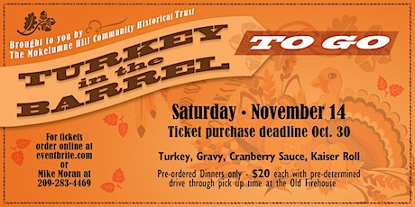 Turkey in the Barrel To Go tickets